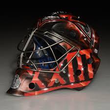 custom painted 2016 world cup of hockey goalie mask team north america