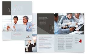 Company Brochure Example Corporate Business Brochure Template Design