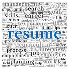 Career Focus On Resume From Job Interview Resume Clipart Explore