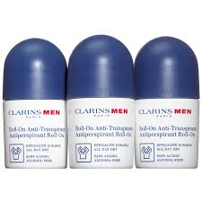 <b>Clarins Men</b> - <b>Clarins Men</b> Roll-On Deodorant Trio 3*50 ml ...