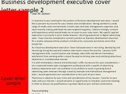 Business Development Director Cover Letter Sarahepps Com