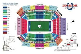 Colts Interactive Seating Chart Boudd Lucas Oil Stadium Seating Chart