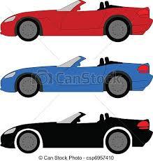 blue sports car clipart.  Blue Sports Car Vector In Blue Clipart E