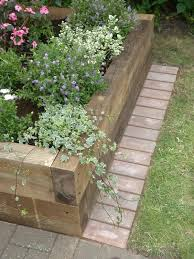 Wood Garden Edging 37 Creative Lawn And Garden Edging Ideas With Images  Planted Well