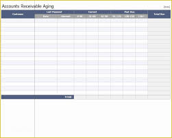 Free Accounts Receivable Template Of Excel Templates