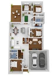 plano de casa con garaje 21