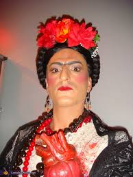 frida and the heart frida kahlo costume