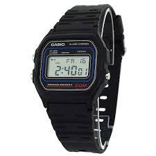 casio w59 1v gents mens digital calendar sports black plastic casio w59 1v gents mens digital calendar sports black plastic strap watch