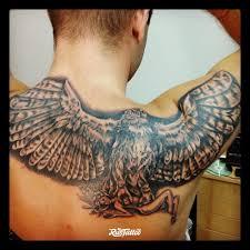 сова татуировки в краснодаре Rustattooru