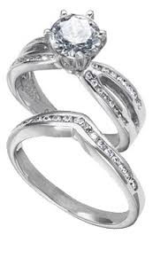 Engagement Rings With Matching Wedding Rings