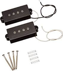 amazon com taot wiring kit fender precision bass p bass 1set 4 string noiseless pickup black for precision p bass replacement