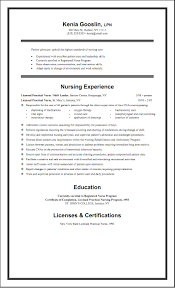 Lpn Student Resume For Study Nursing Template Canada Resumes Me