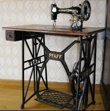 Antique Pfaff Sewing Machine Cabinet