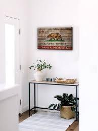 california flag wall decor santa