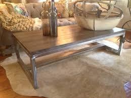 coffee table metal wood coffee rustic furniture coffee table modern rustic furniture contemporary coffee tables