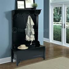 entry storage bench with coat rack compact coat rack shoe storage bench wood entryway mudroom hall