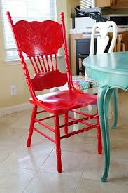 love the red chair with the turquoise table i must recreate this from the sy pepper