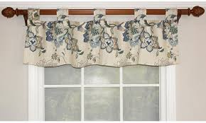 tab top valance. Fine Tab Blue Rose Our British Floral Tab Top Valance  With I