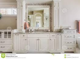 Bathroom White Cabinets Bathroom White Cabinets Trim Stock Photos Images Pictures