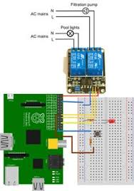 raspberry pi sainsmart relay wiring raspi wiring diagram for pool automation using the raspberry pi