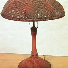 wicker table lamps wicker table lamp antique wicker table lamp dome shade lot wicker table lamps