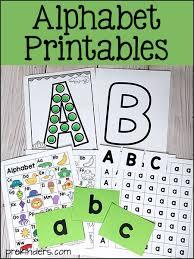 alphabet printables for pre k