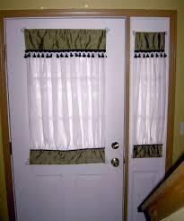 curtains for front doorUnique Curtains  Door Half Window Curtain With Half Door Curtain