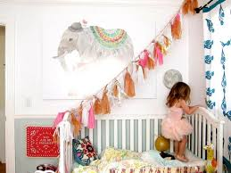 Superb Girls Bed Decorating With Handmade Accents And Pink Color