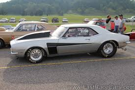 Drag Race Cars > Camaros > Picture of Silver 1968 CAMARO