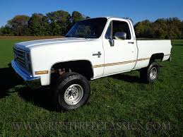 87 K10 Short Bed SWB Silverado fuel injected white 4 speed 4x4 ...