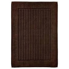 brown bathroom rugs threshold performance bath mat dark brown dark brown bathroom rugs elegant design