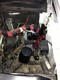 my installation python 533 remote start alarm in 2003 f250 i had to come up a place to cleanly mount the alarm system wiring terminal strip and any future relays i ended up deciding to use the dash support