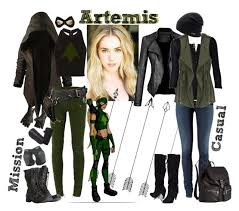 artemis girls costume. artemis - young justice team by lulux3hdl on polyvore featuring alice + olivia, balmain, girls costume i