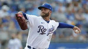 left-handed pitcher Danny Duffy ...