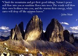 John Muir Quotes About Mountains. QuotesGram via Relatably.com