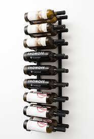 wall mounted metal wine rack. Rosehill Wine Cellars Metal Racks For Wall Mounted Rack VintageView