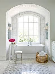Part Tiled Bathrooms Top 20 Bathroom Tile Trends Of 2017 Hgtvs Decorating Design