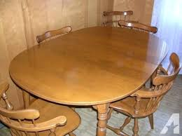 solid maple dining tables solid maple dining room table and six