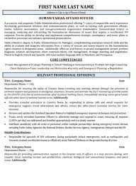 Government Resume Template Government Resume Templates Samples Free