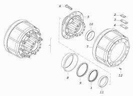 <b>Ступица заднего колеса</b> с барабаном тормоза КамАЗ-53228 ...