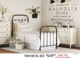 Metallic Bedroom Furniture Rc Willey Sells Metal Beds In Twin Full Queen King