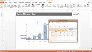 Think Cell Waterfall Chart Total Stacked Column Chart
