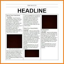 Newspaper Report Template Microsoft Word 6 Editorial Template For Microsoft Word Dragon Fire Defense
