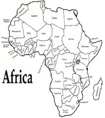 Small Picture Africa Map Coloring Pages current studies Pinterest Africa map