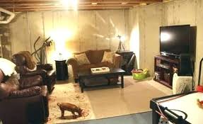 unfinished basement ideas. Unfinished Basement Ideas For Concrete Wall Home Finishing Ceiling On A  Budget De . O