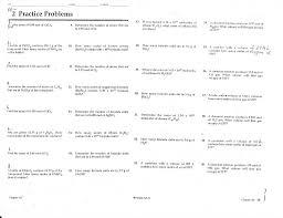 Worksheet Mixed Problems Mole Mole And Mole Mass Term