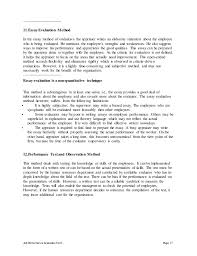 trainee auditor performance appraisal job performance evaluation self descriptive essay example