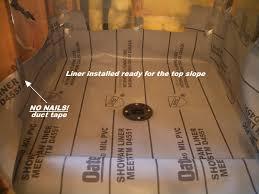 image of prepared liner