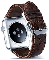 images gallery watch band 42mm leather strap replacement wristband for apple watch series 3