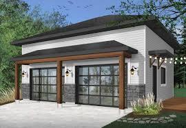 Contemporary Detached Garage Designs Plan 22508dr Modern 2 Car Detached Garage In 2020 Garage